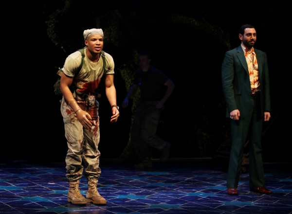 3 at Photos: BENGAL TIGER AT THE BAGHDAD ZOO Opens on Broadway