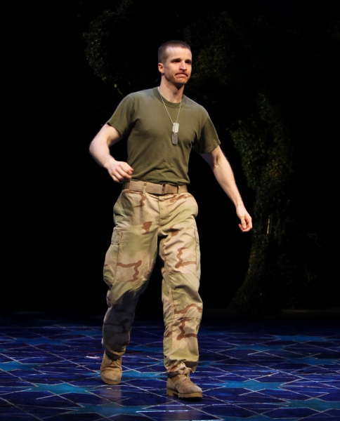 Brad Fleischer during the Broadway Opening Night Curtain Call for 'Bengal Tiger at the Baghdad Zoo' at the Richard Rodgers Theatre in New York City