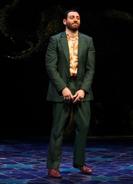 Hrach Titizian during the Broadway Opening Night Curtain Call for 'Bengal Tiger at the Baghdad Zoo' at the Richard Rodgers Theatre in New York City at Photos: BENGAL TIGER AT THE BAGHDAD ZOO Opens on Broadway