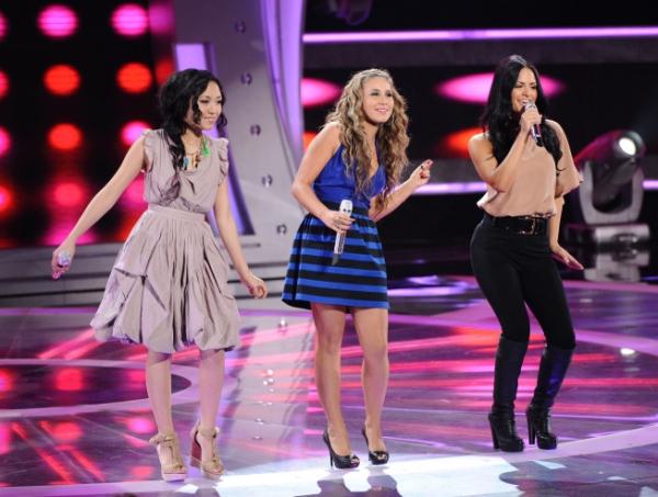Thia Megia, Haley Reinhart and Pia Toscano  Photo