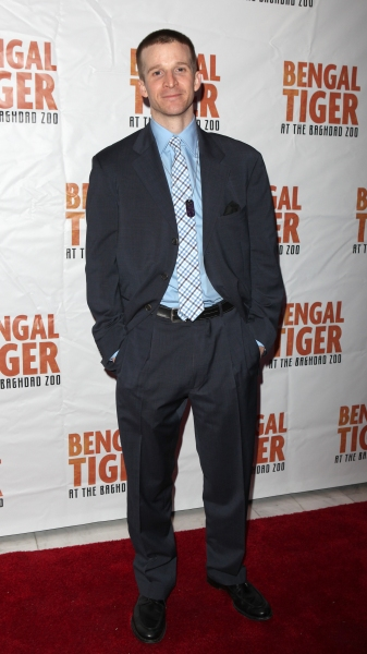 Brad Fleisher attending the Broadway Opening Night After Party for 'Bengal Tiger at the Baghdad Zoo' at espace in New York City at BENGAL TIGER AT THE BAGHDAD ZOO - After Party!