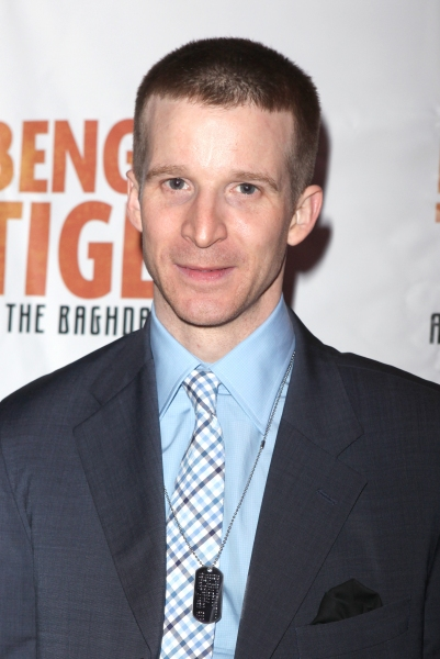 Brad Fleisher attending the Broadway Opening Night After Party for 'Bengal Tiger at the Baghdad Zoo' at espace in New York City