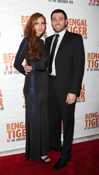 Hrach Titizian attending the Broadway Opening Night After Party for 'Bengal Tiger at the Baghdad Zoo' at espace in New York City at BENGAL TIGER AT THE BAGHDAD ZOO - After Party!