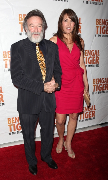 Robin Williams & Susan Schneider attending the Broadway Opening Night After Party for Photo