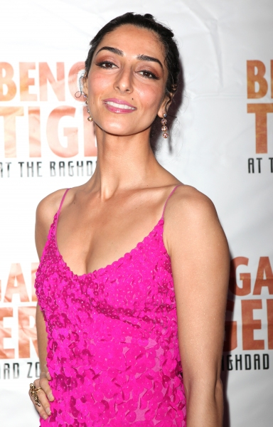 Necar Zadegan attending the Broadway Opening Night After Party for 'Bengal Tiger at the Baghdad Zoo' at espace in New York City at BENGAL TIGER AT THE BAGHDAD ZOO - After Party!