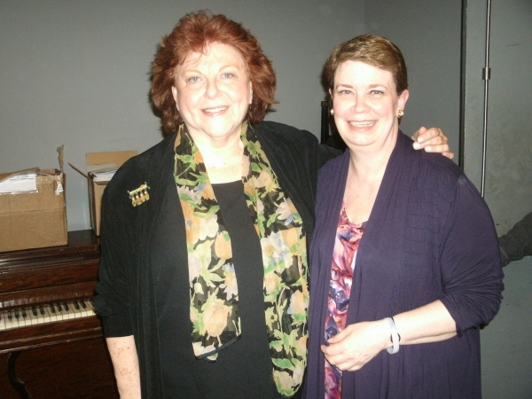 Susan Veronika Adler and Michelle McKenzie-Voigt at Genesis' FROM GENERATION TO GENERATION Opening Night