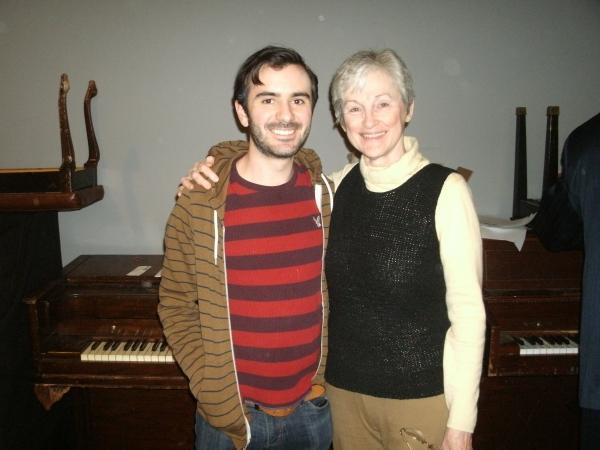 Kris Hyland and Elayne LeTraunik