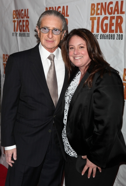 Sander Jacobs & Amy Jacobs attending the Broadway Opening Night Performance of 'Bengal Tiger At The Baghdad Zoo' at the Richard Rodgers Theatre in New York City.