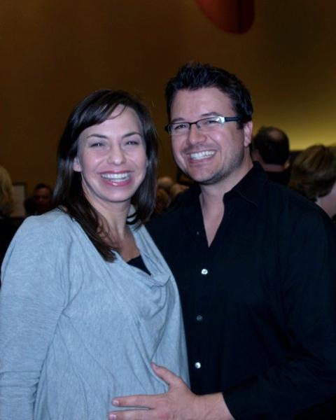 Darcie Magino and Troy Magino