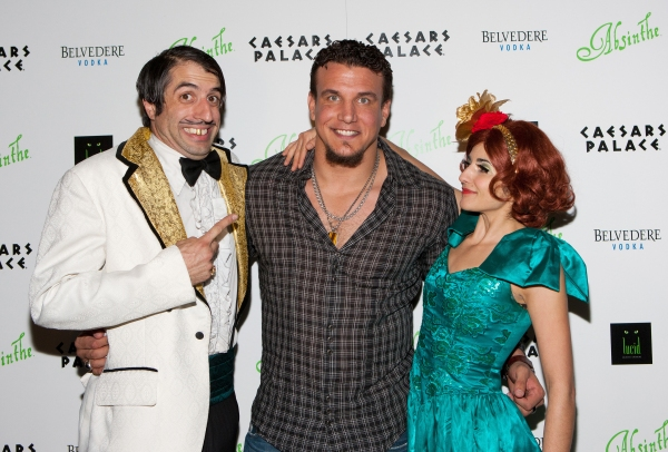Photo Coverage: ABSINTHE, Blend of Carnival & Spectacle Opens at Caesars Palace
