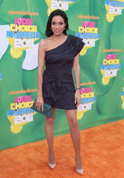 Rosario Dawson at The 2011 Nickelodeon Kids Choice Awards Arrivals