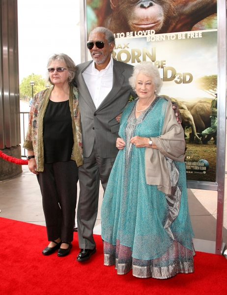 Morgan Freeman, Dame Daphne M. Sheldrick