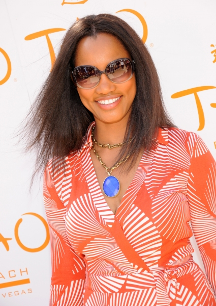 Garcelle Beauvais at Sophia Bush and More at Tao Beach at the Venetian