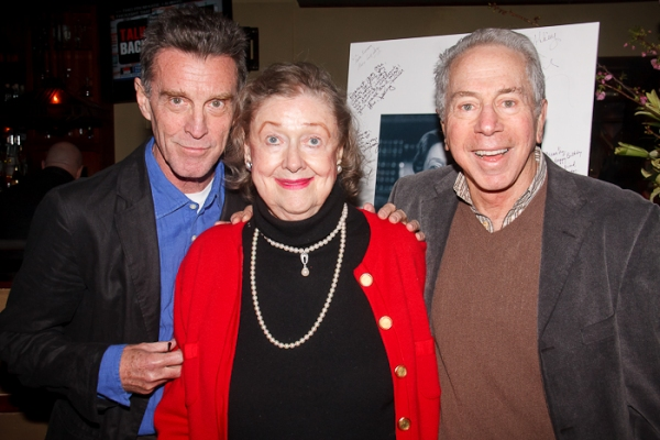John Glover, Elizabeth Wilson, and guest