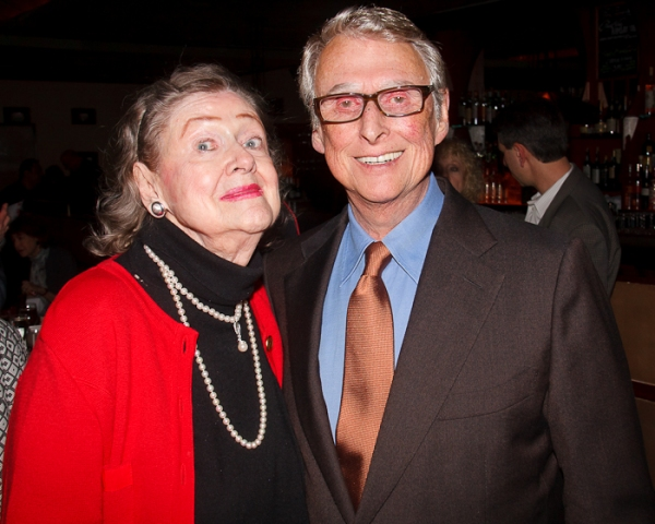 Elizabeth Wilson and Mike Nichols at Primary Stages Toasts Elizabeth Wilson on 90th Birthday