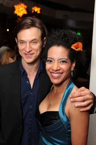 Photo Flash: Hall, Short, Garber & More at CTG's BURN THIS Opening Night!