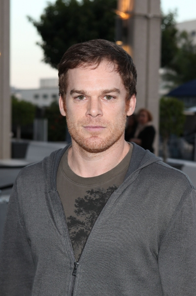 LOS ANGELES, CA - APRIL 3: Michael C. Hall poses during the arrivals for the opening night performance of 'Burn This' at Center Theatre Group's Mark Taper Forum on April 3, 2011 in Los Angeles, California. (Photo by Ryan Miller/Capture Imaging) at Hall, Short, Garber & More at CTG's BURN THIS Opening Night!