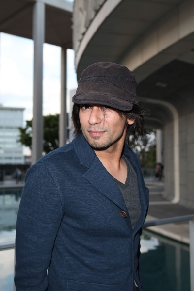 "LOS ANGELES, CA - APRIL 3: Vik Sahay poses during the arrivals for the opening night performance of ""Burn This"" at Center Theatre Group's Mark Taper Forum on April 3, 2011 in Los Angeles, California. (Photo by Ryan Miller/Capture Imaging)"