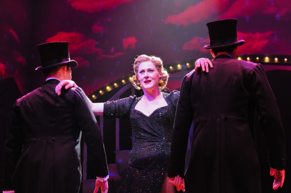 Apr. 4, 2011 - London, England, United Kingdom - Under licence to Betty Blue Eyes'', the musical, premieres at the Novello Theatre, London. Sarah Lancashire as 'Joyce' (Credit Image: © Jane Hobson/London News Pictures/London News Pictures/ZUMAPRESS.com