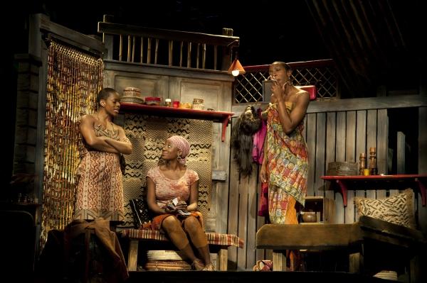 (L-R) Tallia Brinson (Sophie), Daphne Gaines (Salima) and Joy Jones (Josephine) Photo