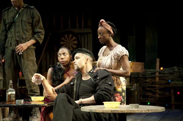 (L-R) Joy Jones (Josephine), Keith Hamilton Cobb (Osembenga) and Daphne Gaines (Sali Photo