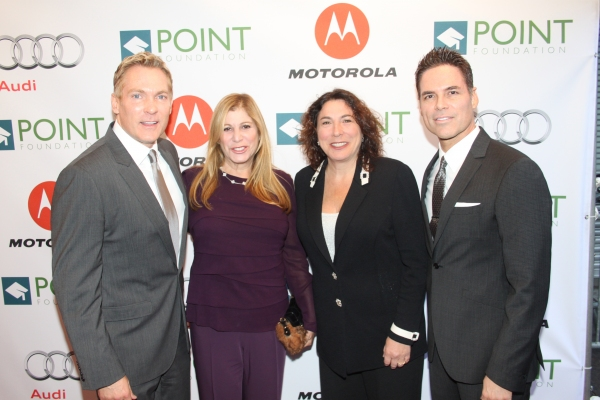 Sam Champion, Joni Rim, Shelley Freeman and Jorge Valencia