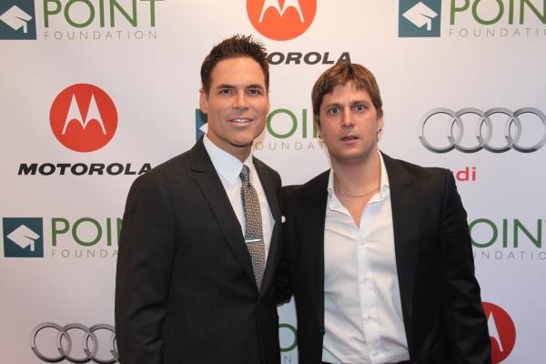Jorge Valencia and Rob Thomas  Photo