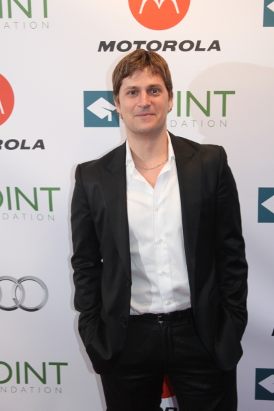 Rob Thomas  at Close, Glover, Ripa & More Celebrate LGBT Leaders with Point Foundation in New York City