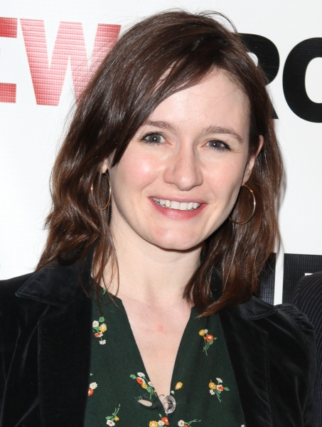 Emily Mortimer attending the Off-Broadway Opening Night Party for The New Group Revival of Wallace Shawn's 'Marie And Bruce' in New York City.