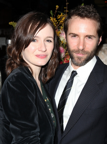 Emily Mortimer and Alessandro Nivola attending the Off-Broadway Opening Night Party for The New Group Revival of Wallace Shawn's 'Marie And Bruce' in New York City.