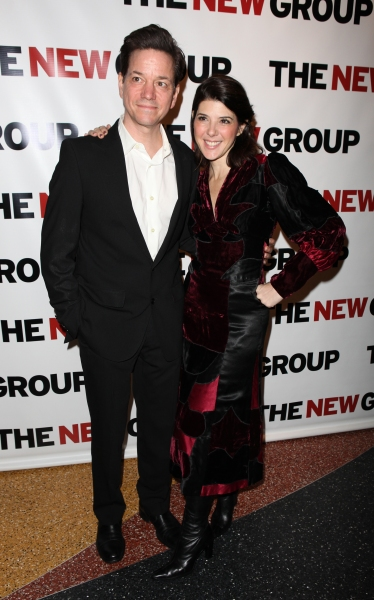 Frank Whaley & Marisa Tomei attending the Off-Broadway Opening Night Party for The New Group Revival of Wallace Shawn's 'Marie And Bruce' in New York City.