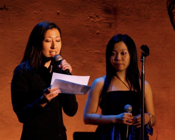 Yuka Takara at Pascal, McGinnis, et al. Sing at REBUILD JAPAN