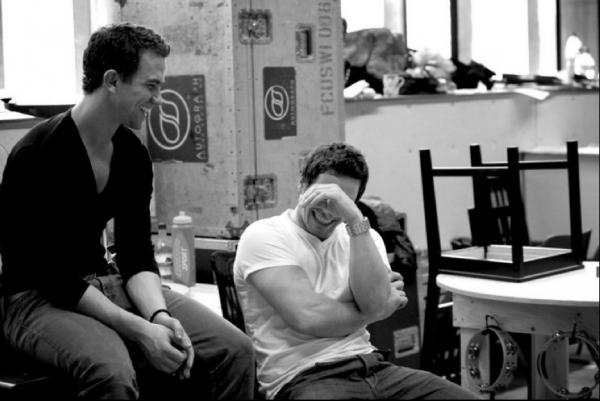 Richard Fleeshman and Ivan de Freitas Photo