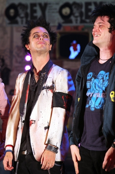 Billie Joe Armstrong and Michael Esper