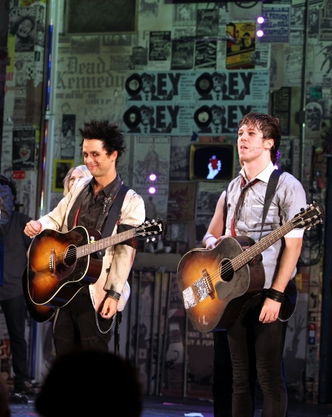 Billie Joe Armstrong and John Gallagher Jr.