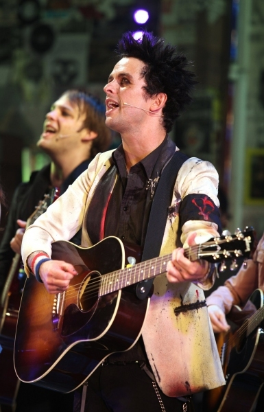 Theo Stockman and Billie Joe Armstrong