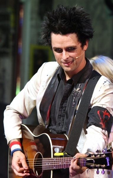Billie Joe Armstrong at Billie Joe Armstrong Returns to AMERICAN IDIOT Tonight!