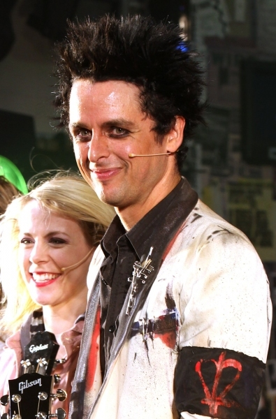 Mary Faber and Billie Joe Armstrong