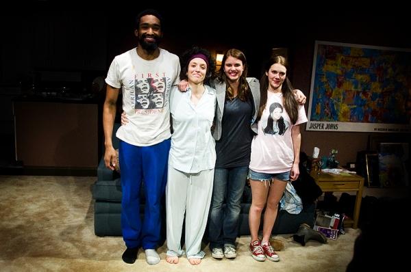 Jordan Tisdale, Mara Lileas, Anna Stromberg and Sarah Roy