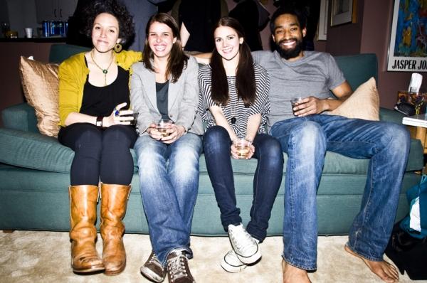 Mara Lileas, Anna Stromberg, Sarah Roy and Jordan Tisdale