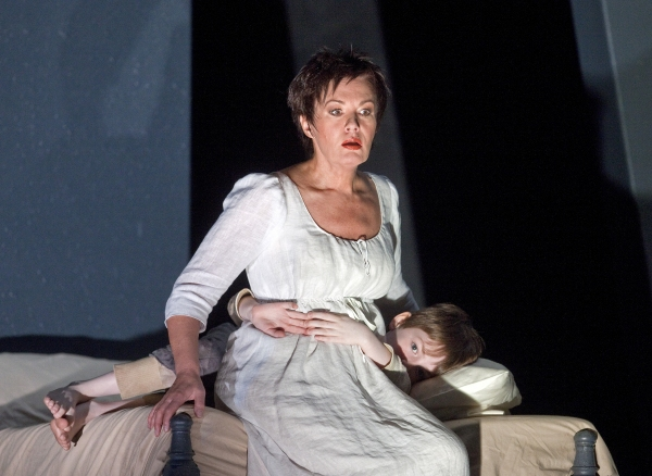 "Waltraud Meier as Marie and John Albert as Marie's Child in Berg's ""Wozzeck."" Photo:  Photo"