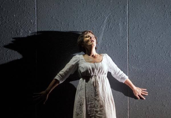 """Waltraud Meier as Marie in Berg's """"Wozzeck."""" Photo: Cory Weaver/Metropolitan Opera  T Photo"""