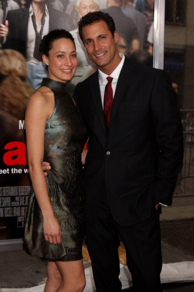Nigel Barker and Wife