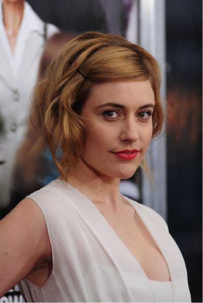 Greta Gerwig at ARTHUR Flick with Mirren, Brand et al. Premieres in NYC