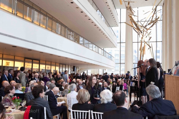 Photo Coverage: Folksbiene Honors Michael Tilson Thomas at Avery Fisher Hall