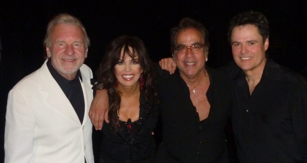Colm Wilkinson, Marie Osmond, Richard Jay-Alexander and Donny Osmond