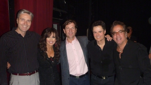 Marie Osmond, Donny Osmond and Richard Jay-Alexander