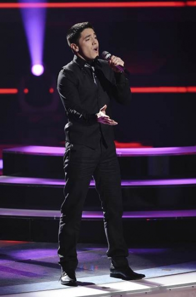 Stefano Langone  at AMERICAN IDOL's Top 9 Perform!