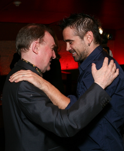 Dermot Crowley, Colin Farrell at Colin Farrell Attends CRIPPLE OF INISHMAAN Opening