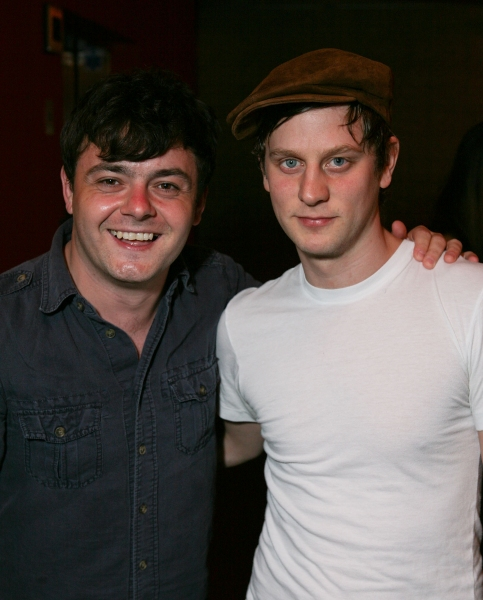 LOS ANGELES, CA - APRIL 6: Cast members Laurence Kinlan (L) and Tadhg Murphy (R) pose Photo